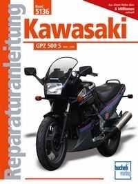 Bd. 5136 Reparatur-Anleitung KAWASAKI GPZ 500 S (ab 1986)