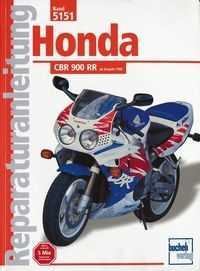 Bd. 5151 Reparatur-Anleitung HONDA CBR 900 RR (ab 1992)