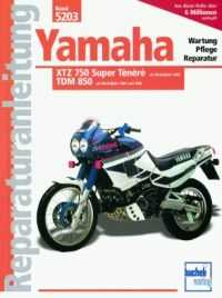 Bd. 5203 Reparatur-Anleitung Yamaha XTZ 750 Ténéré