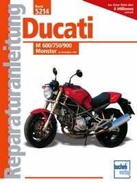 Bd. 5214 Reparatur-Anleitung DUCATI M 600/750/900 Monster (ab 1993)