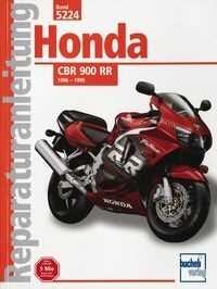 Bd. 5224 Reparatur-Anleitung HONDA CBR 900 RR (ab 1996)