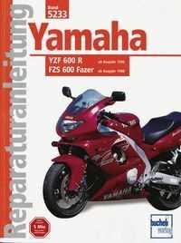Bd. 5233 Reparatur-Anleitung YAMAHA YZF 600 Thundercat/FZS 600 Fazer (ab 1996 bzw.98)