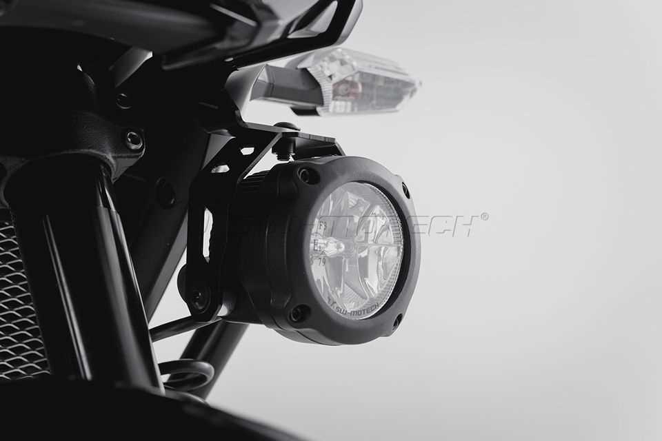 Nebelscheinwerfer HAWK LED Nebelscheinwerfer-Set Schwarz. Kawasaki ...