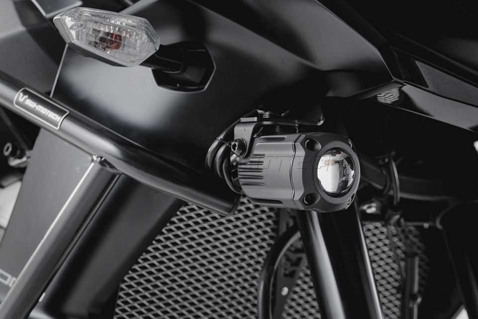 Nebelscheinwerfer HAWK Nebelscheinwerfer-Set Schwarz. Kawasaki ...