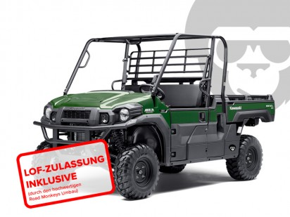 Kawasaki Mule pro-DX EPS diesel_KAF_1000 EGF 2016 gruen INKL-LOF