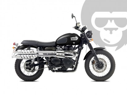 Triumph Scrambler 2016 schwarz