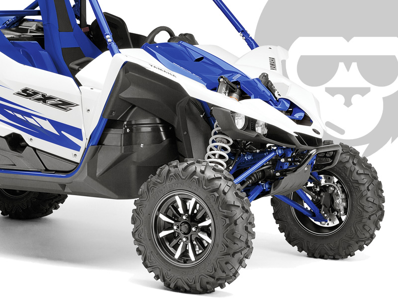 yamaha yxz1000r side by side utv 2016 in blau weiss bei road monkeys kaufen o finanzieren. Black Bedroom Furniture Sets. Home Design Ideas