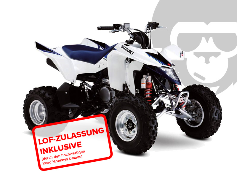 suzuki ltz 400 quad sport 2017 in blau weiss bei road monkeys kaufen o finanzieren. Black Bedroom Furniture Sets. Home Design Ideas