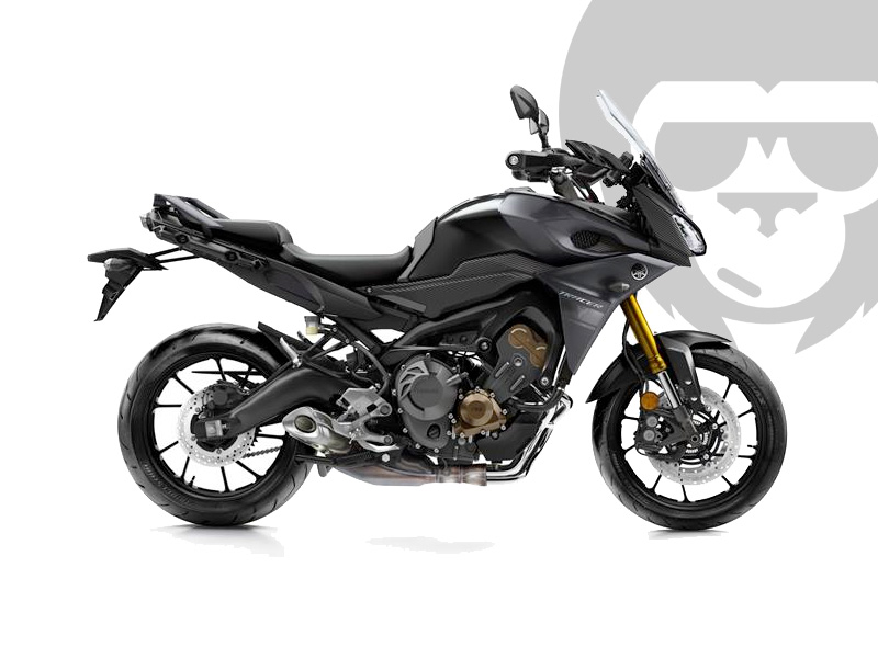 yamaha mt 09 tracer 2017 in schwarz bei road monkeys. Black Bedroom Furniture Sets. Home Design Ideas