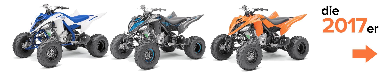 Die Yamaha YFM700 Raptor 2017er Modelle